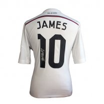 James Rodriguez Signed Real Madrid 14/15 Camiseta de la 1ª equipación