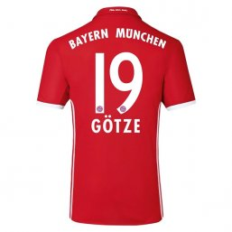 Bayern Munich 16/17 GOTZE Authentic Camiseta de la 1ª equipación