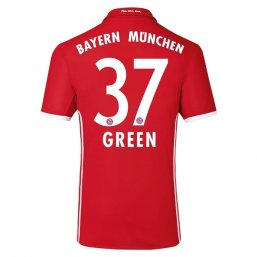 Bayern Munich 16/17 GREEN Authentic Camiseta de la 1ª equipación
