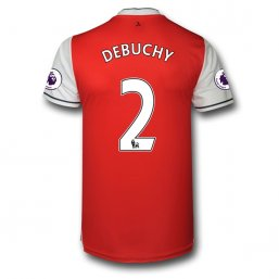 Arsenal 16/17 2 DEBUCHY Authentic Camiseta de la 1ª equipación