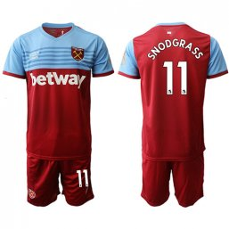 Camiseta del West Ham United 1ª 2019/20 #11 SNODGRASS