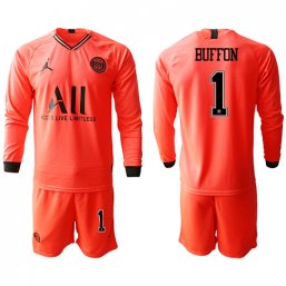 Paris St. Germain Manga larga Camiseta de la 2ª equipación 2019/20 #1 BUFFON
