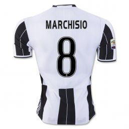 Juventus 16/17 MARCHISIO Authentic Camiseta de la 1ª equipación