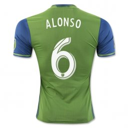 Seattle Sounders 2016 ALONSO Authentic 1ª EQUIPACIÓN CAMISETAS DE FÚTBOL