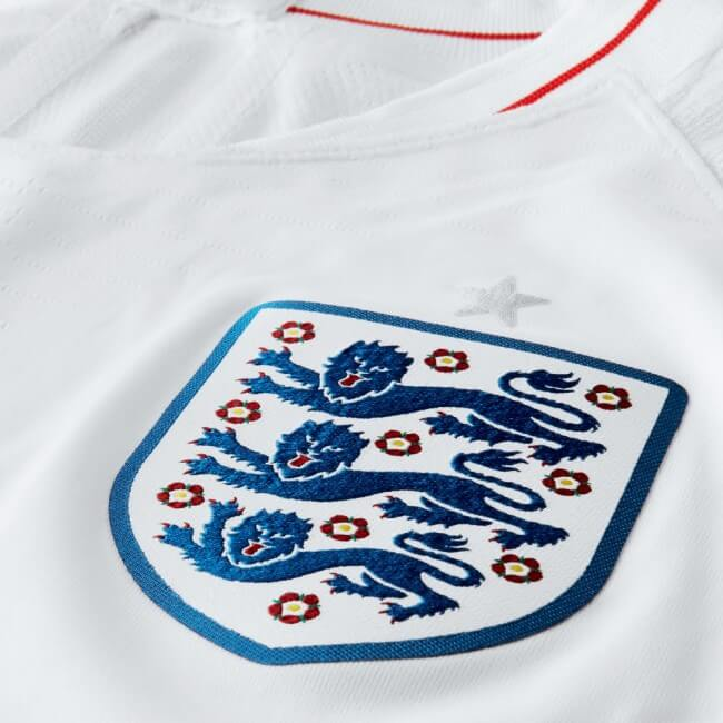 ENGLAND 2018 Home Jersey