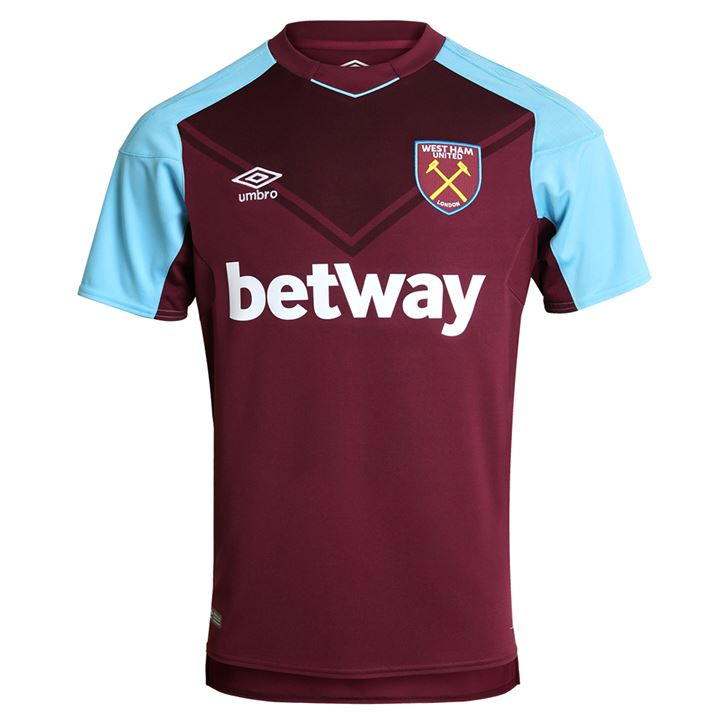 Umbro West Ham United Home Shirt 2017/18