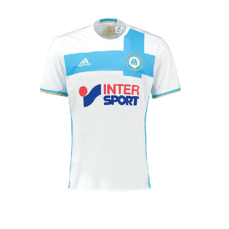 Olympique de Marseille 16/17 Adidas Youth Home Jersey