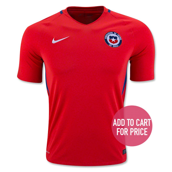 Chile 2016 Home Jersey