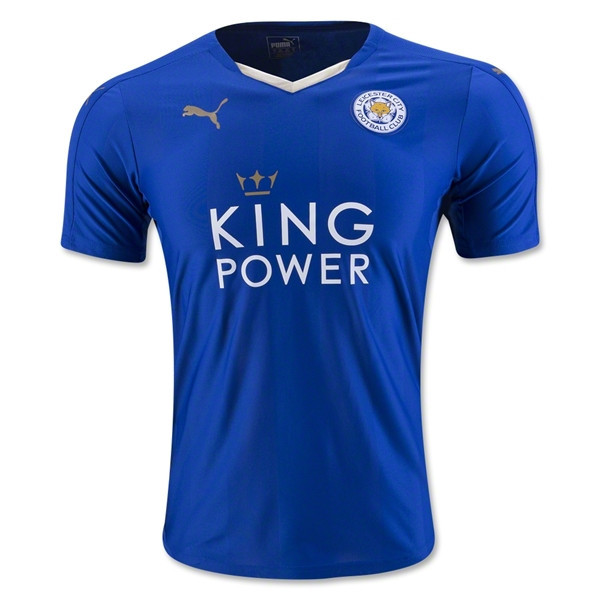 Leicester City 15-16 Home Jersey