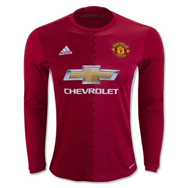 Manchester United 16/17 LS Home Jersey