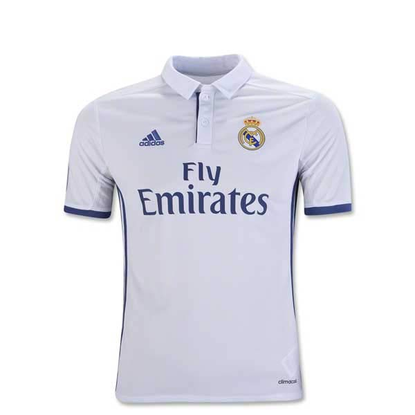 Real Madrid 16/17 Youth Home Jersey