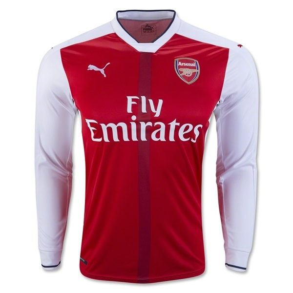 Arsenal 16/17 LS Home Jersey