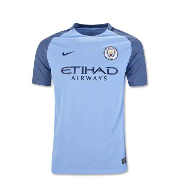 Manchester City 16/17 Youth Home Jersey
