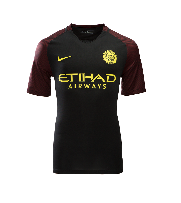 Manchester City 16/17 Youth Away Jersey