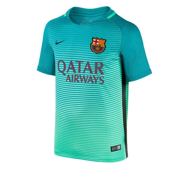 Barcelona 16/17 Youth Third Jersey