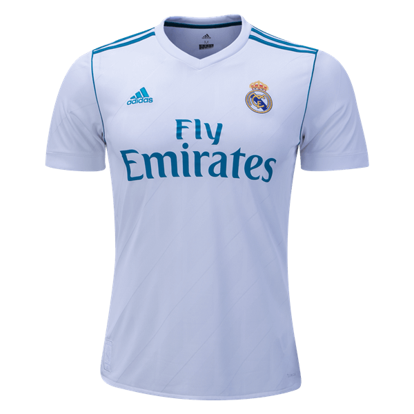 adidas Real Madrid Home Jersey 17/18