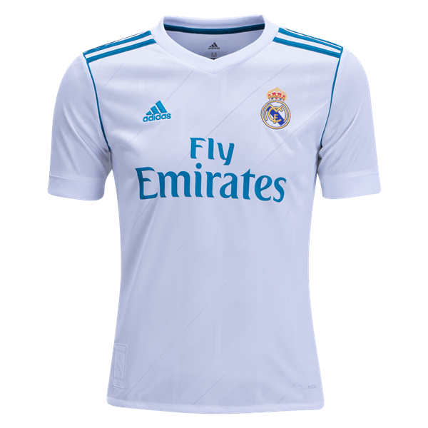 adidas Real Madrid Youth Home Jersey 17/18