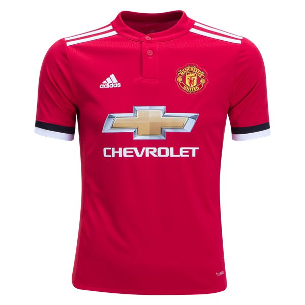 adidas Manchester United Youth Home Jersey 17/18
