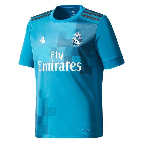 adidas Real Madrid Youth Third Jersey 17/18