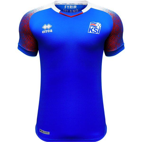 Iceland 2018 Home Jersey