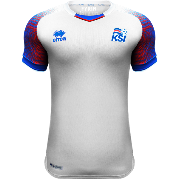Iceland 2018 away Jersey