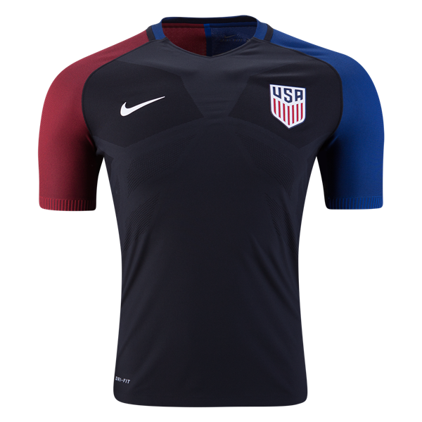 USA 2016 Away Soccer Jersey