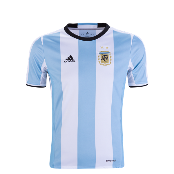Argentina 2016 Youth Home Soccer Jersey