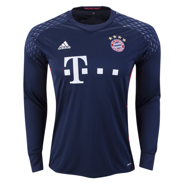 adidas Bayern Munich Long Sleeve Goalkeeper Jersey 16/17