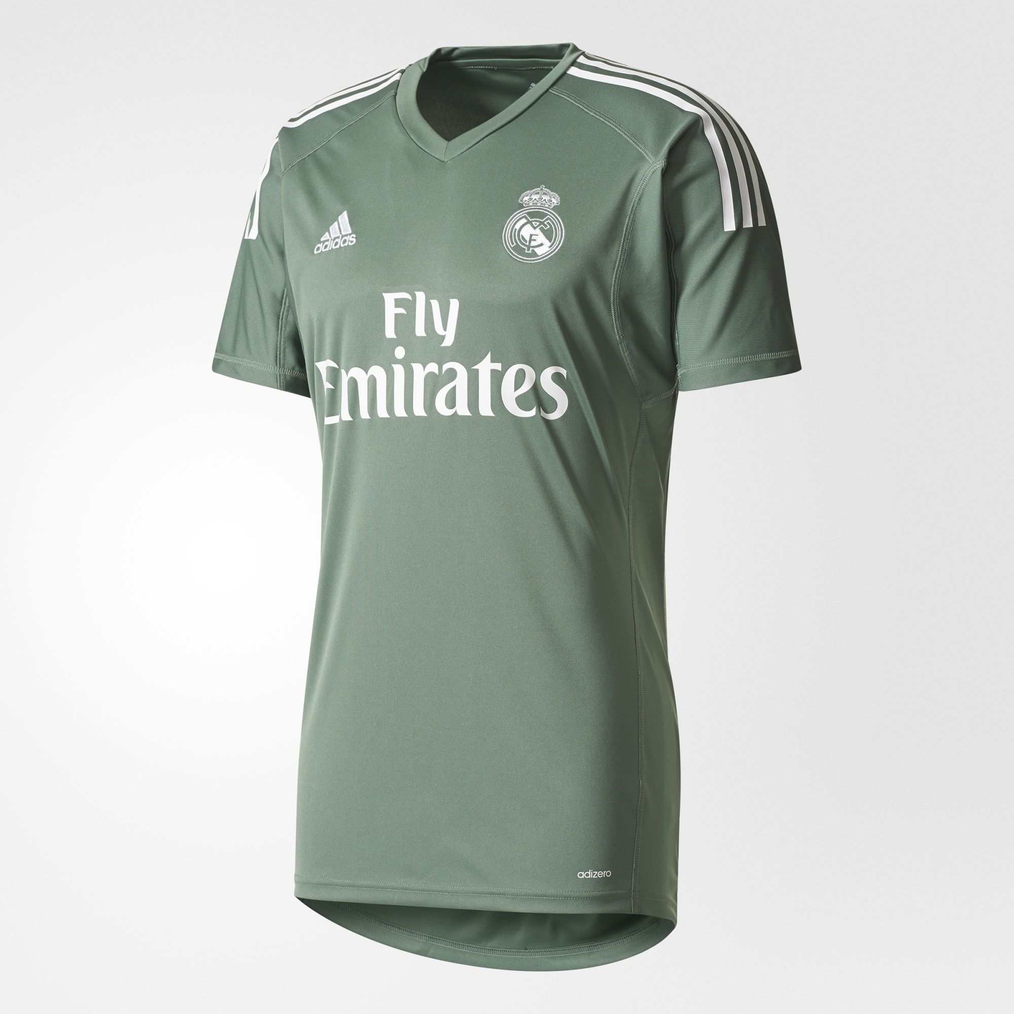REAL MADRID HOME REPLICA GOALKEEPER JERSEY 2017/18