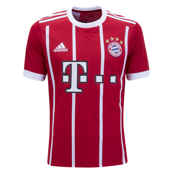 adidas Bayern Munich Youth Home Jersey 17/18