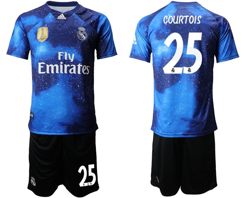 Real Madrid 19 20 Thibaut Courtois Camiseta De La 2ª Equipación Camisetas Sport Club