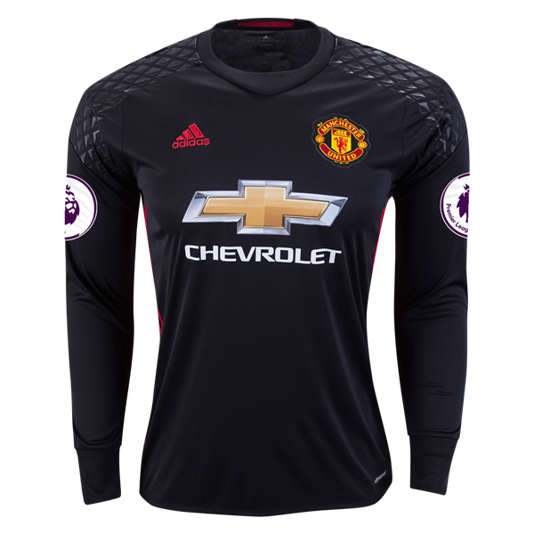 RED DEVILS 16/17 LS GOALKEEPER JERSEY PERSONALIZED