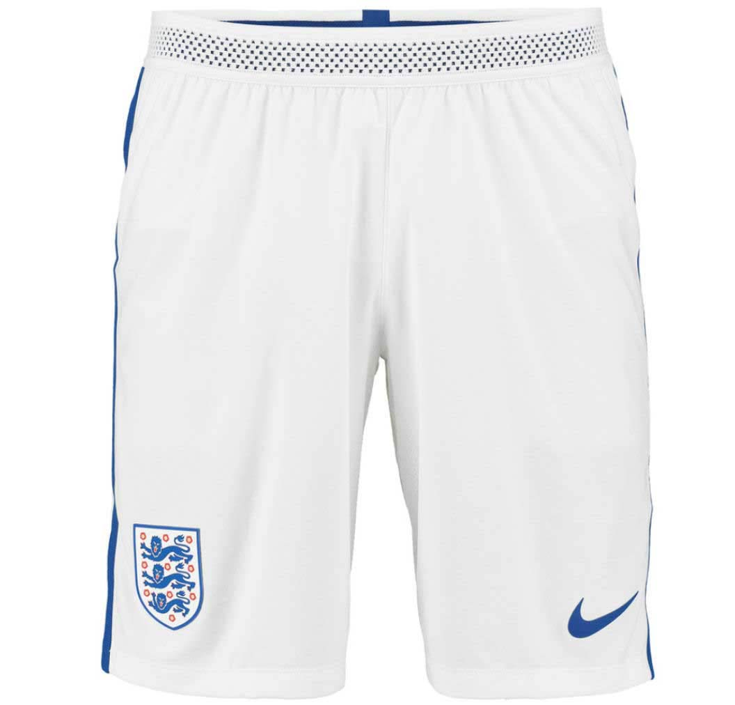 2016-2017 ENGLAND NIKE HOME MATCH SHORTS (WHITE)