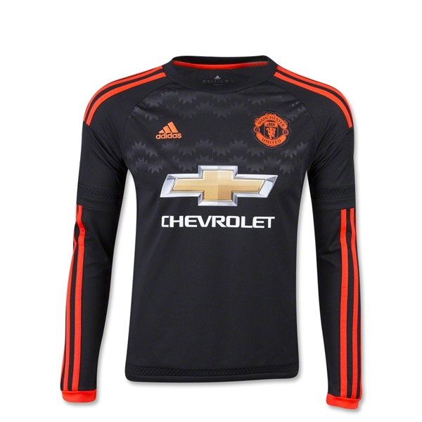 Manchester United 15/16 LS Youth Third Jersey