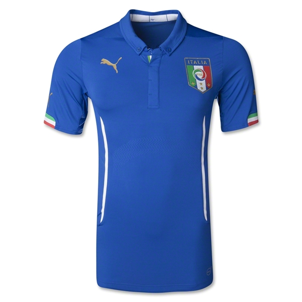Italy 14/15 Authentic Home Jersey