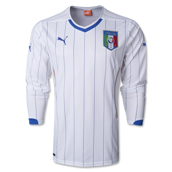 Italy 14/15 LS Away Jersey