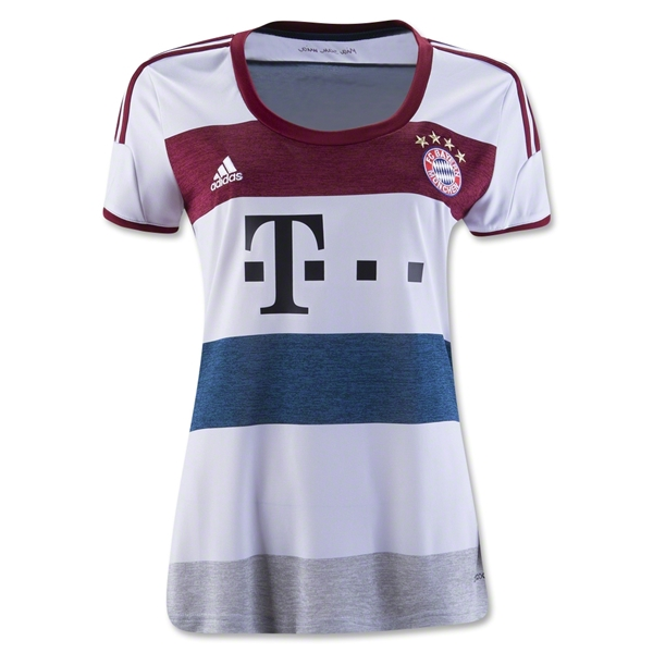 Bayern Munich 14/15 Women's Away Jersey