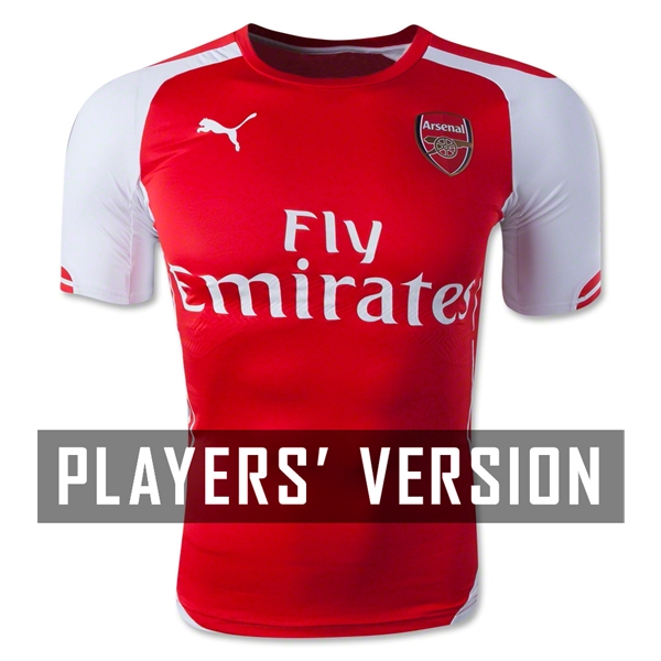 Arsenal 14/15 Authentic Home Jersey