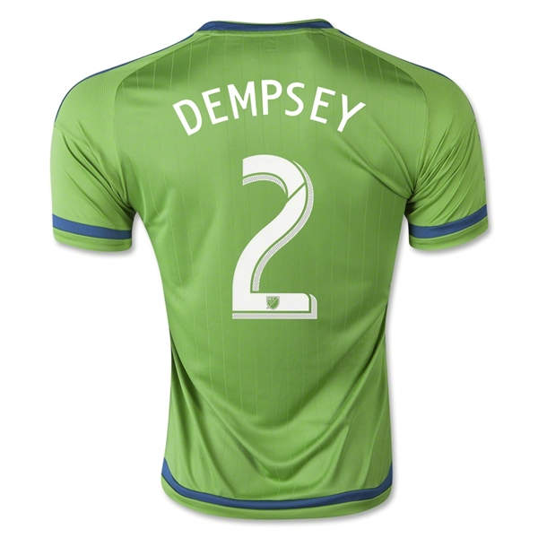 Seattle Sounders 2015 DEMPSEY Home Soccer Jersey