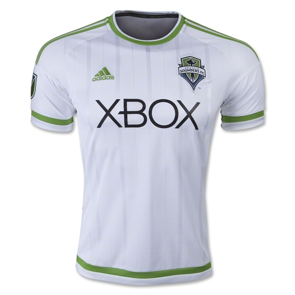 Seattle Sounders 2015 Away Soccer Jersey