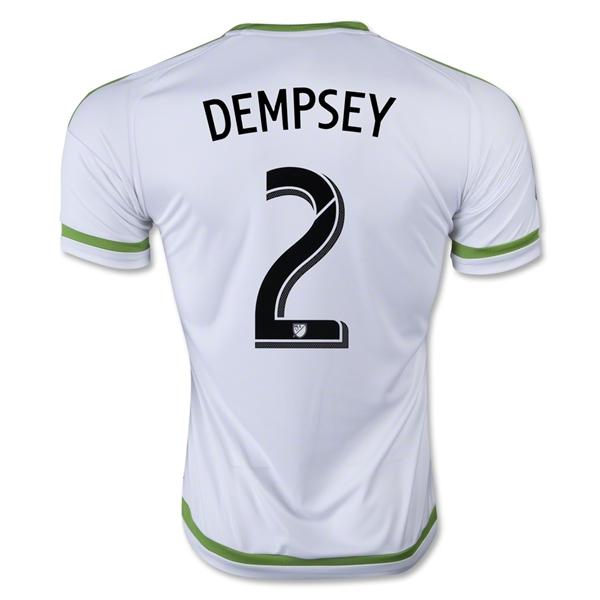 Seattle Sounders 2015 DEMPSEY Away Soccer Jersey