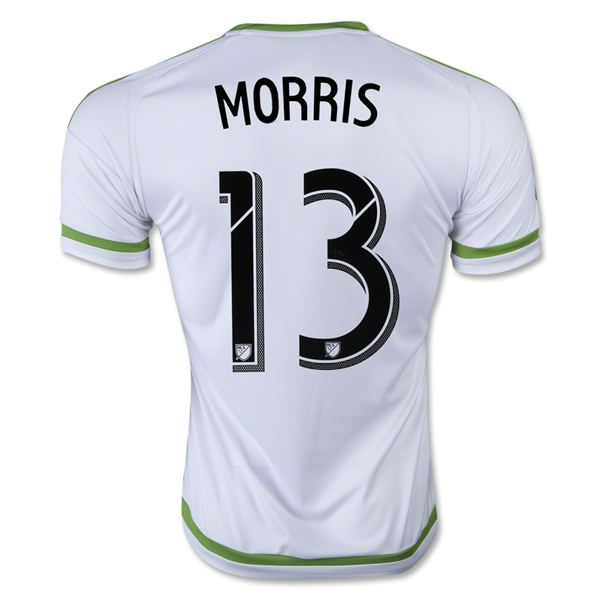 Seattle Sounders 2015 MORRIS Away Soccer Jersey