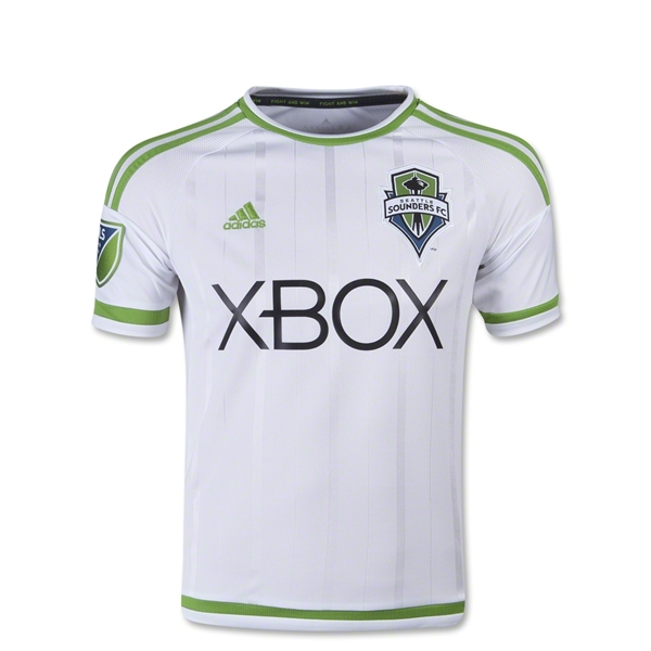 Seattle Sounders 2015 Youth Away Soccer Jersey