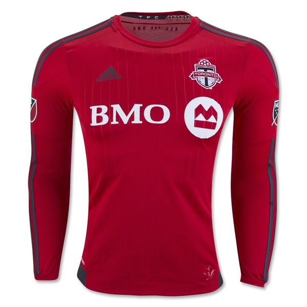 Toronto FC 2016 Authentic LS Home Soccer Jersey