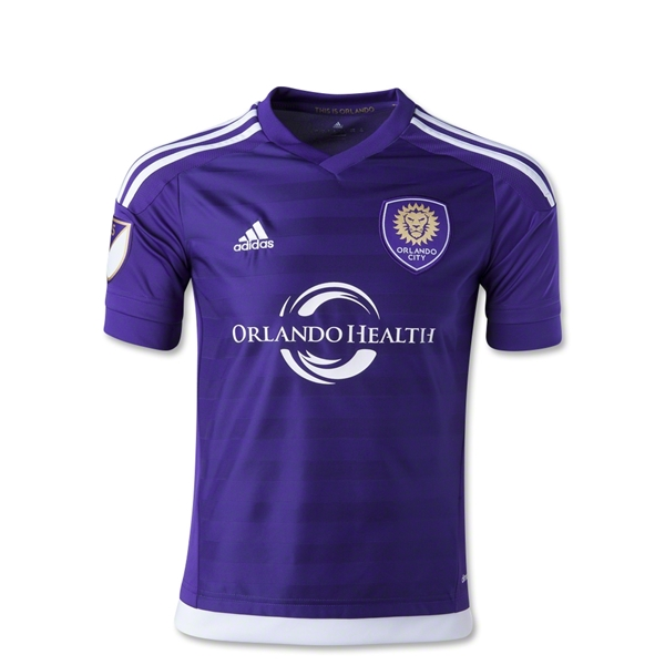 Orlando City 2015 Primary Youth Soccer Jersey