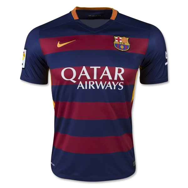 Barcelona 15/16 Home Jersey