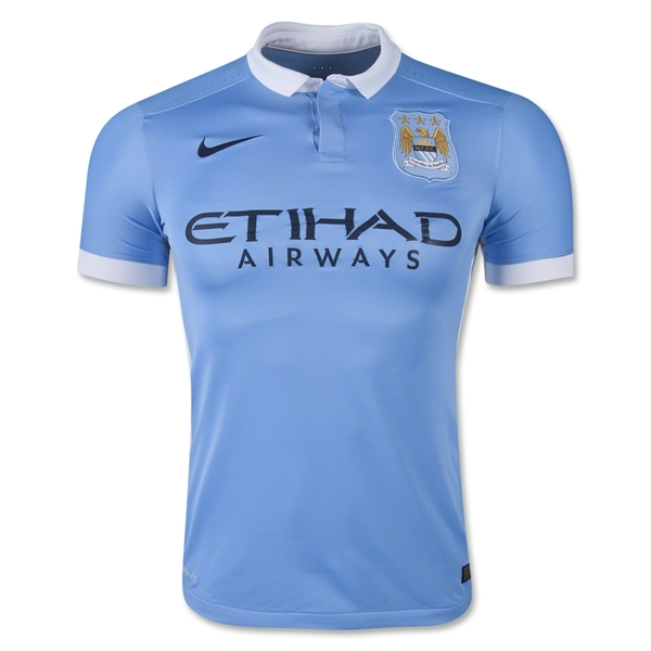 Manchester City 15/16 Authentic Home Jersey