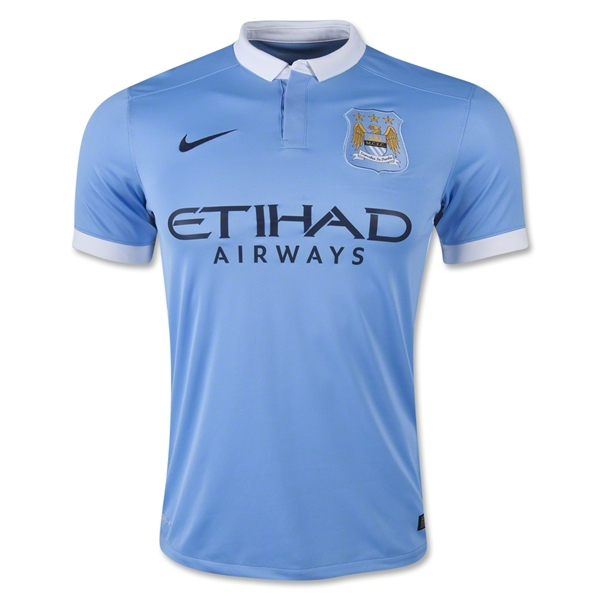 Manchester City 15/16 Home Jersey