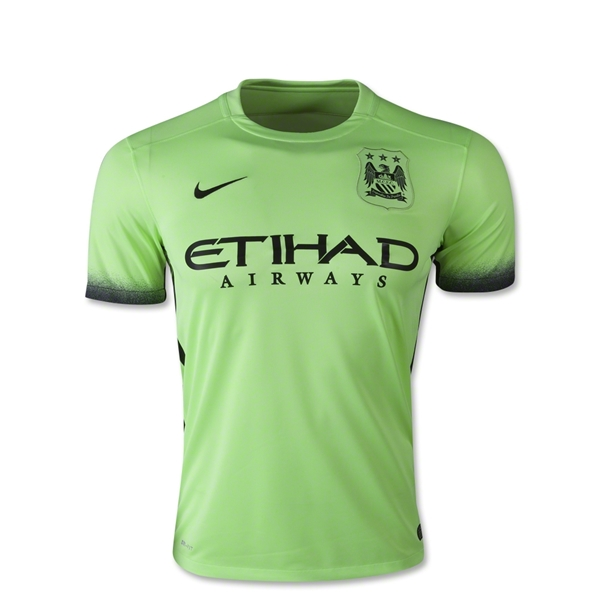 Manchester City 15/16 Youth Third Jersey
