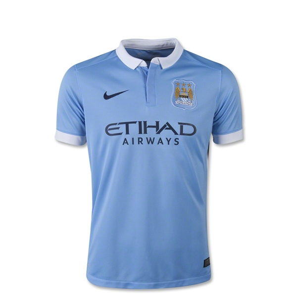 Manchester City 15/16 Youth Home Jersey